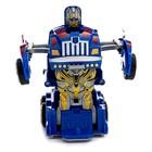 Робот-трансформер инерционный «Оптимус», трансформируется автоматически при столкновении - фото 105503713