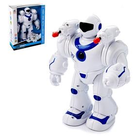 Робот «Стрелок», световые и звуковые эффекты, работает от батареек, цвета МИКС