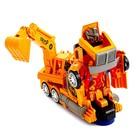 Робот «Автоэкскаватор», трансформируется, световые и звуковые эффекты, работает от батареек - фото 1013274