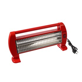 Обогреватель Engy QH-1500S, кварцевый инфракрасный, 3 уровня нагрева, 1500 Вт, красный 401261