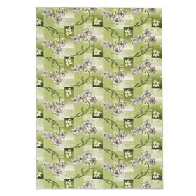Палас Афродита, размер 200х300 см, светло-зелёный, войлок 195 г/м2