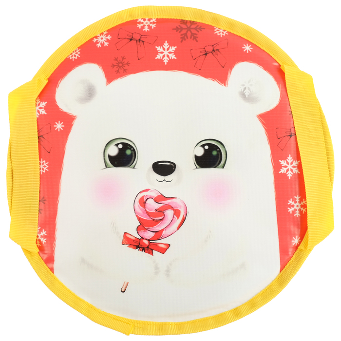 Санки-ледянки Bear, d=35 см