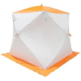 Палатка МrFisher 200 ST, цвет белый/оранжевый, в упаковке, без чехла