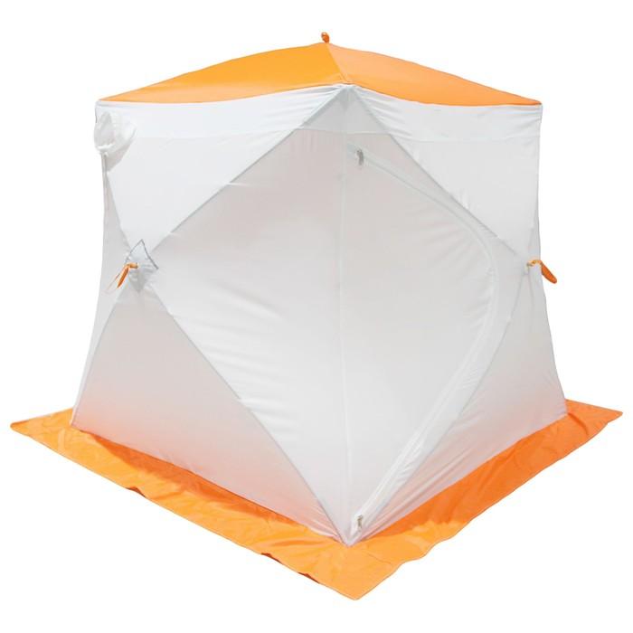 Палатка МrFisher 200 ST, цвет белый/оранжевый