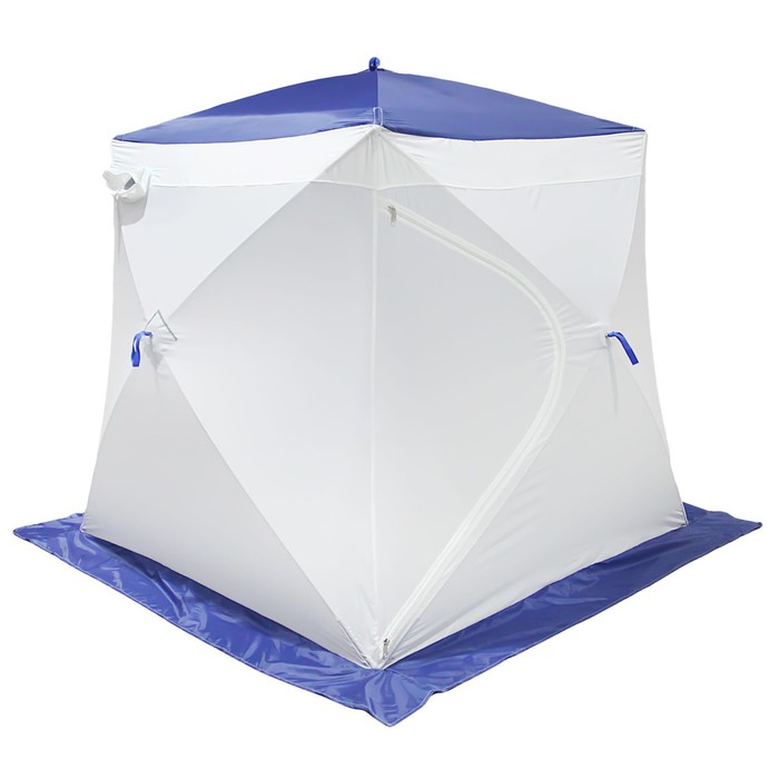 Палатка MrFisher 200 ST, цвет белый/синий