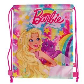 Мешок для обуви, 320 х 270 мм, Barbie