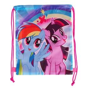 Мешок для обуви, 320 х 270 мм, My Little Pony