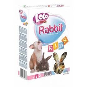 Корм LoLo Pets Kids для молодых кроликов возрастом от 3 до 8 месяцев, 400 г