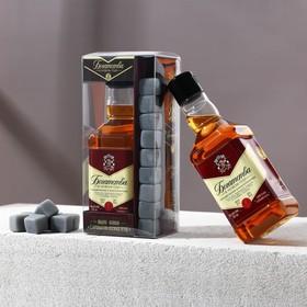 """Подарочный набор """"Богатства в Новом году!"""": гель для душа, мыло-камни"""