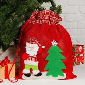 Мешок Деда Мороза «Дедушка», с ёлочкой