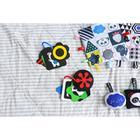 Развивающая игрушка по методике Г. Домана карточки на кольце «Зверята» 5шт, МИКС - фото 106429654