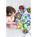 Развивающая игрушка по методике Г. Домана карточки на кольце «Зверята» 5шт, МИКС - фото 106429655