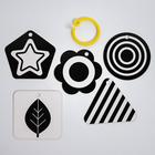 Развивающая игрушка по методике Г. Домана карточки на кольце «Зверята» 5шт, МИКС - фото 105528204
