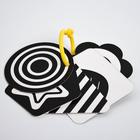 Развивающая игрушка по методике Г. Домана карточки на кольце «Зверята» 5шт, МИКС - фото 105528205