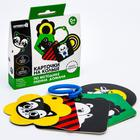 Развивающая игрушка по методике Г. Домана карточки на кольце «Зверята» 5шт, МИКС - фото 106366210