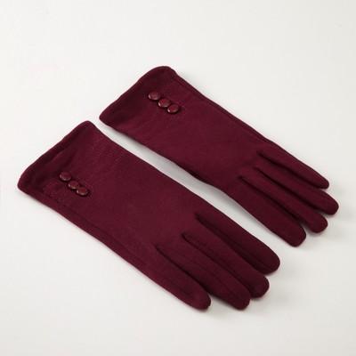 MINAKU gloves womens Ladies size 19, color Bordeaux