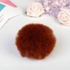 "Pompom faux fur ""Krasnoburogo"" d=7 cm"