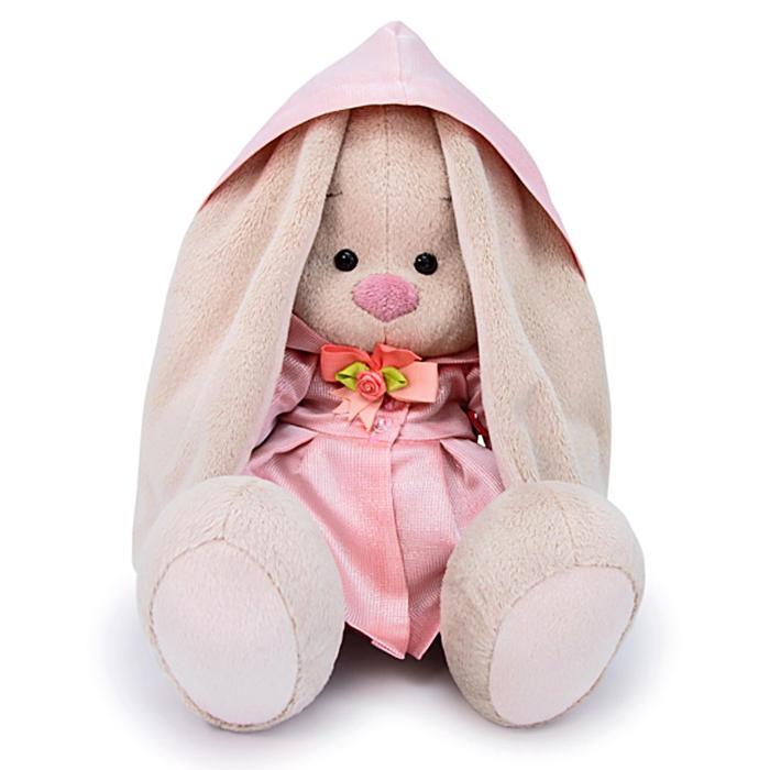 Мягкая игрушка «Зайка Ми в розовом плаще», 18 см - фото 105615949