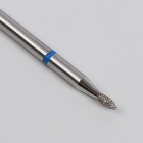 Фреза алмазная для маникюра «Пламя», средняя зернистость, 1,4 × 3,3 мм