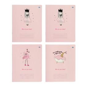 Тетрадь А5, 48 листов в клетку «Кто ты сегодня?», обложка мелованный картон, блок офсет, МИКС