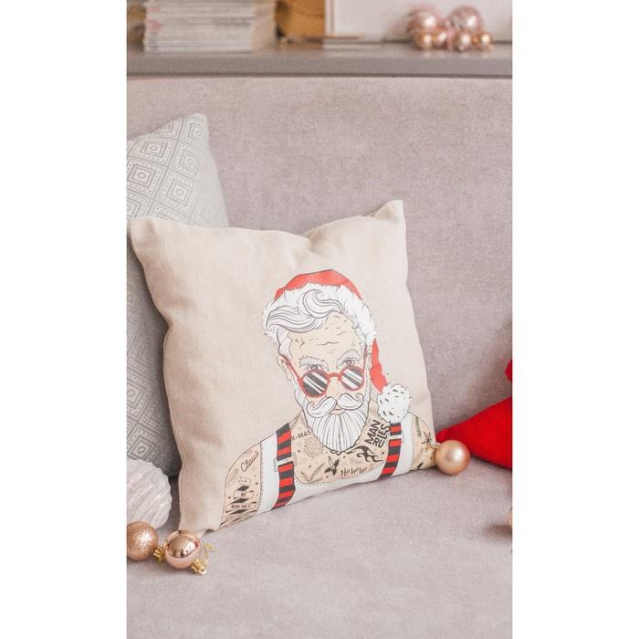 Интерьерные подушки Bad Santa, набор для шитья 21 х 29,7 см - фото 691773