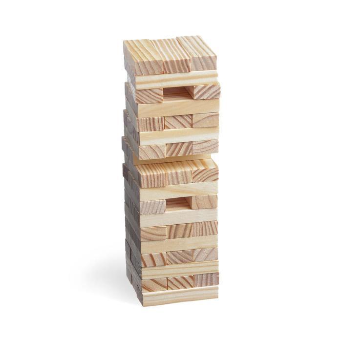 Падающая башня «Играют все», 54 бруска