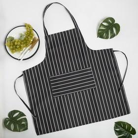 "Фартук Доляна ""Chef"", 70*68 см, 100% п/э"