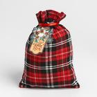 Мешок подарочный «Прекрасного праздника», 16 х 23 см.