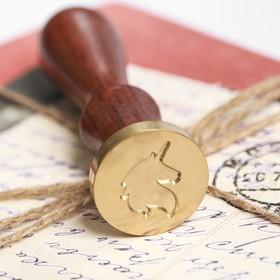 Сургучная печать «Единорог», 7 х 15 см