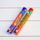 Classic slapstick with confetti and serpentine, 20 cm