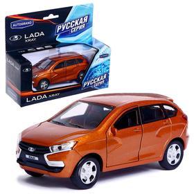 Машина металлическая Lada Xray, масштаб 1:36 , цвета МИКС