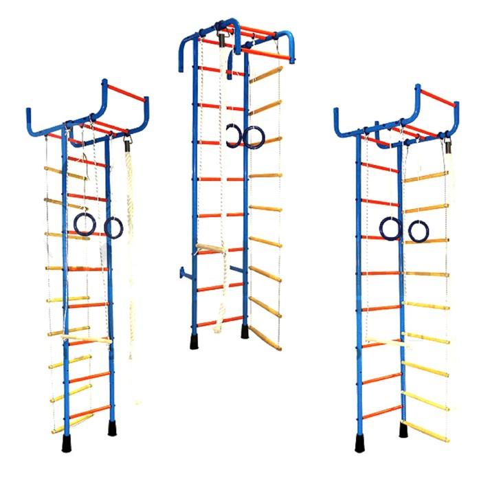 """Детский спортивный комплекс """"Трансформер"""", с кольцом, веревочной лестницей и канатами"""