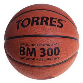 Мяч баскетбольный Torres BM300, B00013, размер 3