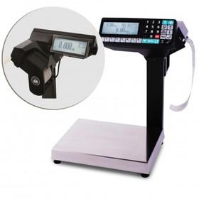 Торговые весы-регистраторы с печатью чеков и этикеток МАССА МК-6.2-R2P10 Ош