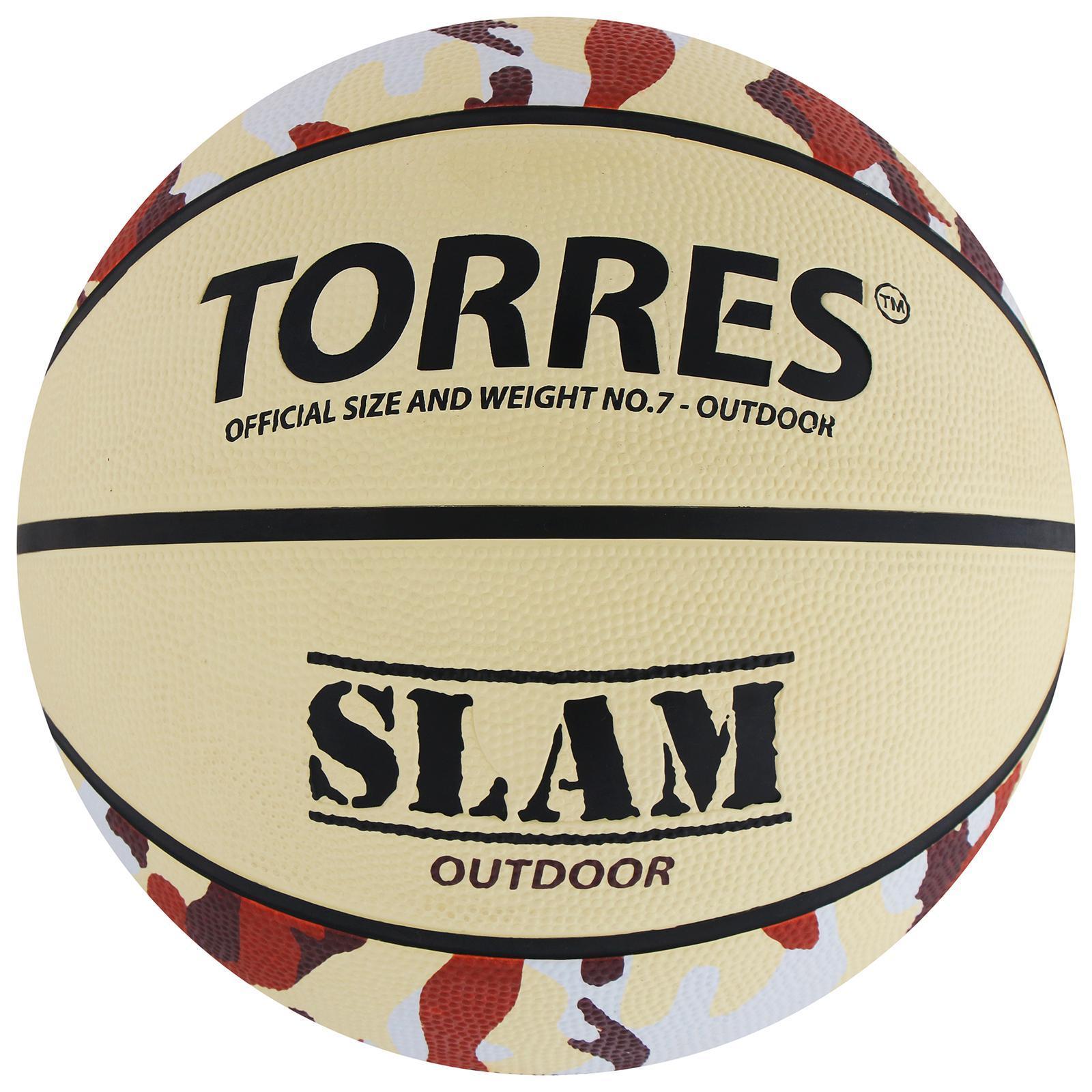 4d3cf9b3 Мяч баскетбольный Torres Slam, B00067, размер 7 (569175) - Купить по ...