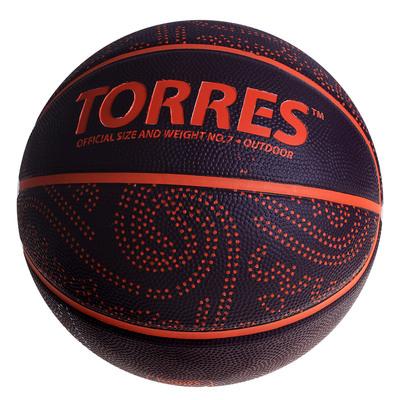 Мяч баскетбольный Torres TT, B00127, размер 7