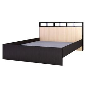Кровать Ненси-2 1470x2170x865 венге/дуб молочный