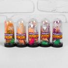Набор «Слим с блёстками и игрушкой своими руками», цвет перламутровый оранжевый - фото 105691465
