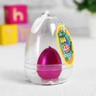 """Растущие игрушки """"Цыплёнок в яйце"""" 6×6×8 см МИКС"""
