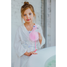 "Мочалка детская ""Фламинго"", 60 гр."