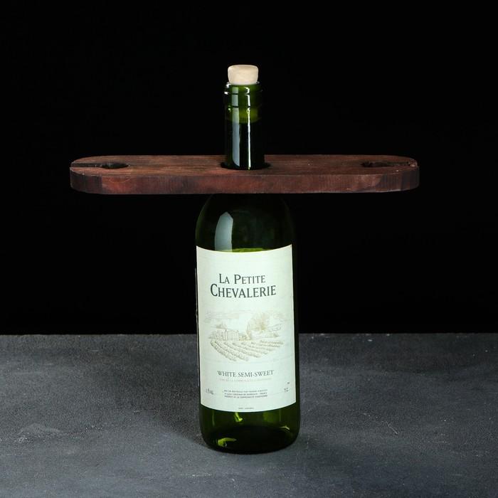Держатель для бокалов на бутылку, обожженный, 27 см, 1 сорт