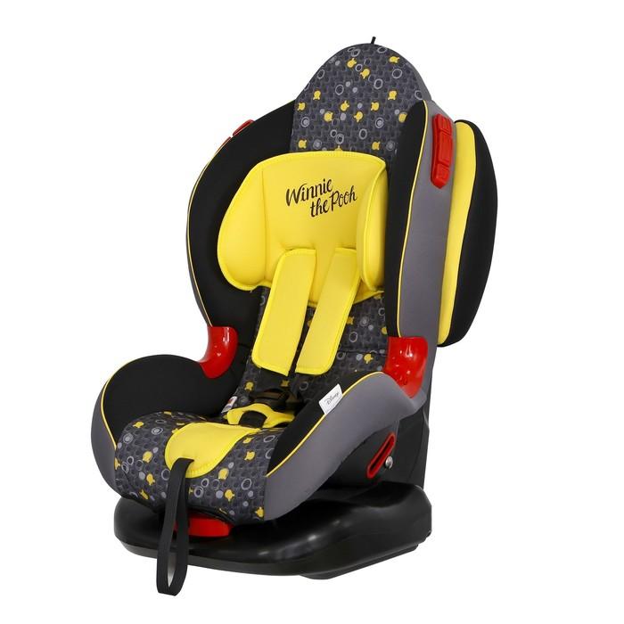 Автокресло Siger Disney Кокон Isofix «Винни Пух», группа 1/2 (9-25 кг) кружки, цвет жёлтый   462074