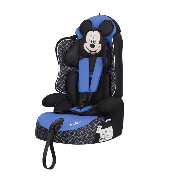 Автокресло Siger Disney Драйв «Микки Маус», группа 1/2/3 (9-36 кг) контур, цвет синий