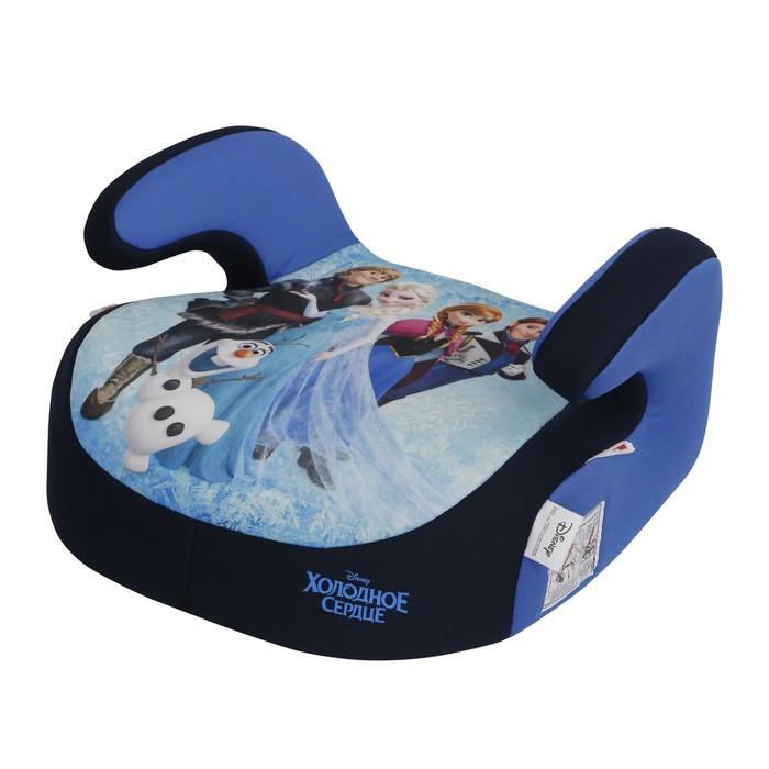 Бустер Siger Disney «Холодное сердце», группа 3 (22-36 кг) герои, цвет синий
