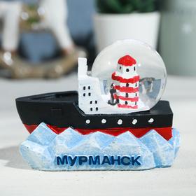 Снежный шар «Мурманск. Мемориал морякам, погибшим в мирное время»