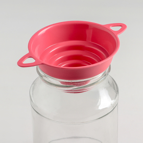 Funnel for jars 4 diameter, upper-d=100 mm MIX color