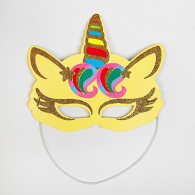 "Carnival mask ""Unicorn"""