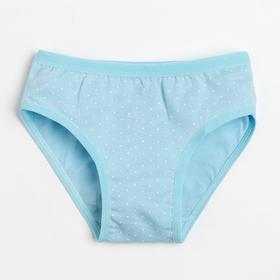 Трусы для девочки, цвет голубой, рост 98-104 см (2)