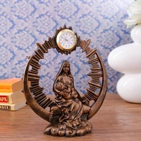 """Часы настольные """"Рождение Христа"""", 19.5х15х5.5 см"""