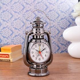 """Часы настольные с будильником """"Керосинка"""", 21х9х7.5 см"""